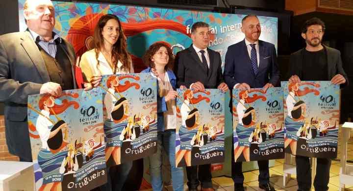 Presentación oficial do Festival Internacional do Mundo Celta de Ortigueira