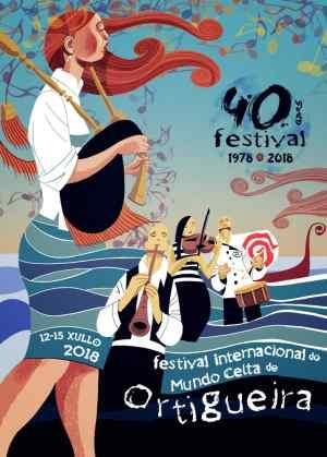 Cartel Festival de Ortigueira 2018